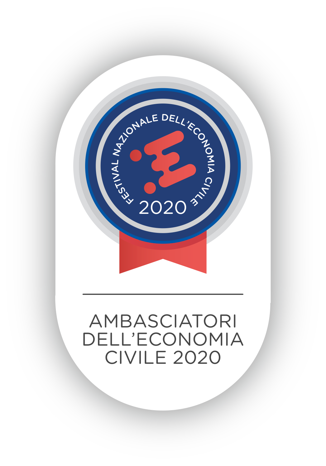 Badge Ambasciatori dell'Economia Civile 2020